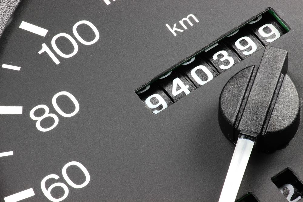 走行距離10万キロ